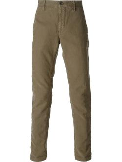 Incotex  - Distressed Chino Trousers