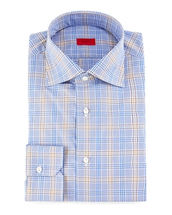 Isaia  - Check Dress Shirt