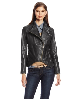 Elie Tahari - Beverly Leather Jacket