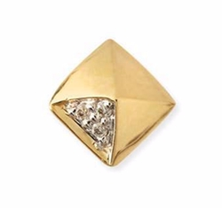 Sydney Evan - Pyramid Single Stud Earring