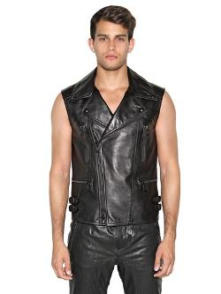 Belstaff - Kingsley Leather Biker Vest