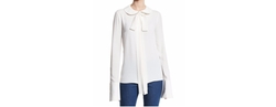 Michael Kors Collection  - Bow Peter Pan Collar Blouse