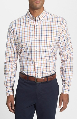 Cutter & Buck  - Clyde Hill Classic Fit Plaid Sport Shirt