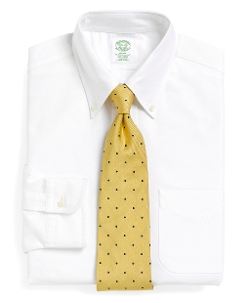 Brooks Brothers - Milano Fit Button-Down Collar Dress Shirt