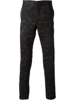 Raf Simons  - Narrow Fit Camouflage Trousers