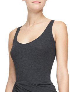 Donna Karan - Scoop-Neck Tank