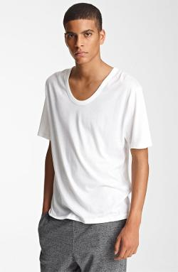T by Alexander Wang  - Classic Scoop Neck T-Shirt