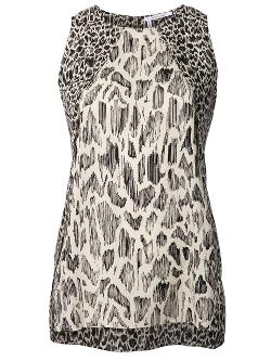 10 Crosby Derek Lam  - Animal Print Tank
