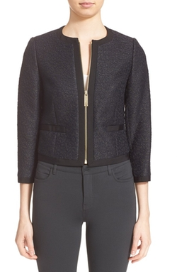 Ted Baker London  - Jacquard Crop Jacket