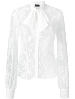 Ermanno Scervino - Sheer Lace Shirt