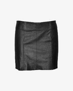 LOVE LEATHER  - EXCLUSIVE LEATHER MINI SKIRT
