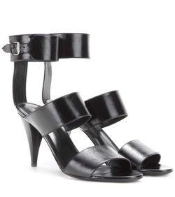 Saint Laurent  - Fetish Leather Sandals