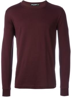 Dolce & Gabbana   - Round Neck T-Shirt