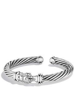 David Yurman  - Cable Buckle Cuff Bracelet