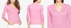 Lauren Ralph Lauren  - V-Neck Sweater