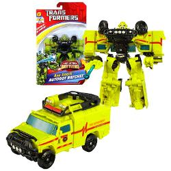 Hasbro - Axe Attack Autobot RATCHET with Blasting Axe Attack