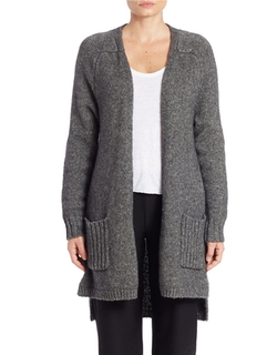 Eileen Fisher - Wool & Silk-Blend Cardigan