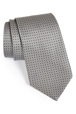 Ike Behar  - Woven Silk Tie