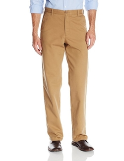 Izod - Flat Front Straight Fit Pants
