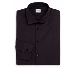 Armani Collezioni - Spread Collar Dress Shirt