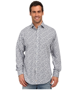 Thomas Dean & Co. - Floral Print Sport Shirt