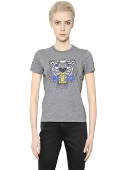 Kenzo - Tiger Printed Cotton T-Shirt
