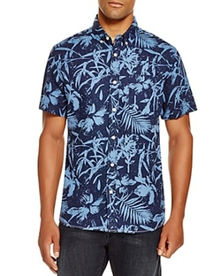 Surfside Supply - Tonal Palm Print Shirt