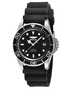 Invicta  - Pro Diver Auto Black Polyurethane Watch