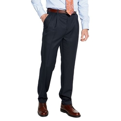 Croft & Barrow - Classic-Fit Pleated No Iron Microfiber Dress Pants