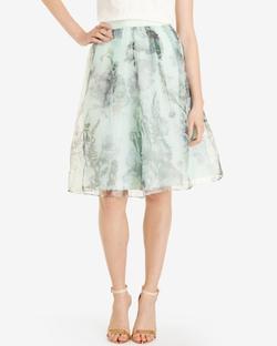 Ted Baker - Torchlit Floral Midi Skirt