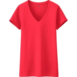 Uniqlo - V Neck Short Sleeve T-Shirt
