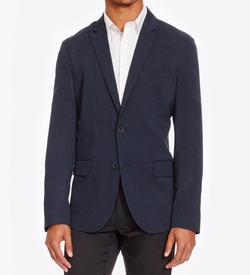 Kenneth Cole Reaction - Slim-Fit Stretch Neat Blazer
