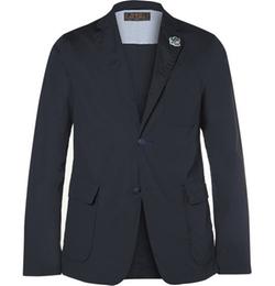 Beams Plus - Slim-Fit Unstructured Cotton-Blend Suit Jacket
