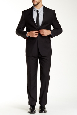 English Laundry - Solid Two Button Notch Lapel Suit