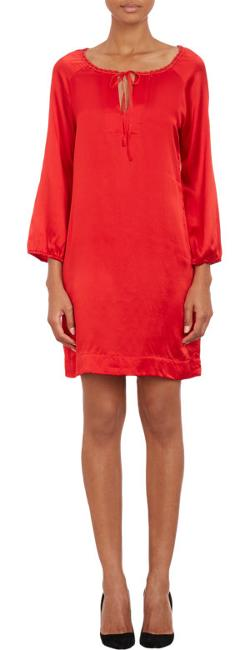 "Nili Lotan  - ""Walker"" Long-Sleeve Dress"
