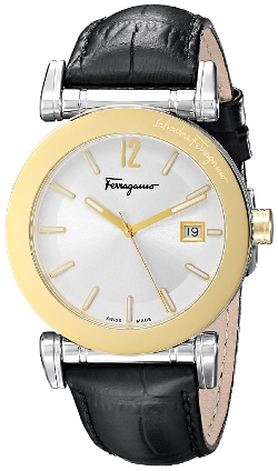 Salvatore Ferragamo - Analog Display Quartz Black Watch