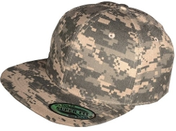 Superfit - Camouflage Flat Bill Snapback Hat