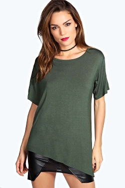 Boohoo - India Asymmetric T-Shirt