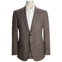 Isaia  - Birdseye Sport Coat - Wool-Silk-Cashmere