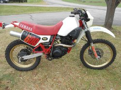 Yamaha - XT 600 Dirt Bike