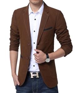 HZMK - Cotton Sports Blazer Jacket