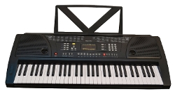 Huntington  - KB61 61-Key Portable Electronic Keyboard