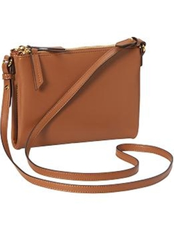 Old-Navy - Faux-Leather Crossbody Bag