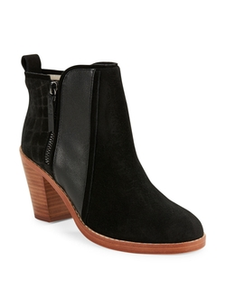 Matt Bernson - Suede And Leather Ankle Boots
