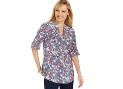Charter Club  - Two Pocket Blouse