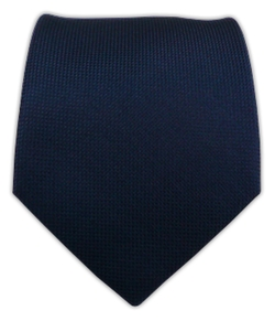 The Tie Bar - Midnight Navy Solid Texture Tie