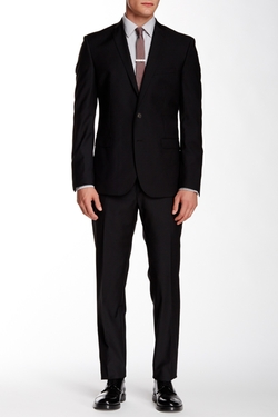 Ben Sherman  - Camden Two Button Notch Lapel Wool Suit