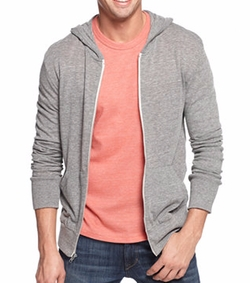 Alternative Appare - Long-Sleeve Zip Hoodie