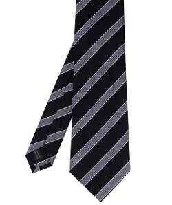 Amanda Christensen - Stripe Silk Tie