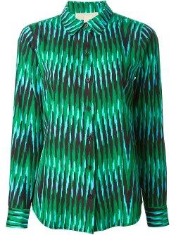 Michael Michael Kors  - Stripe Print Shirt